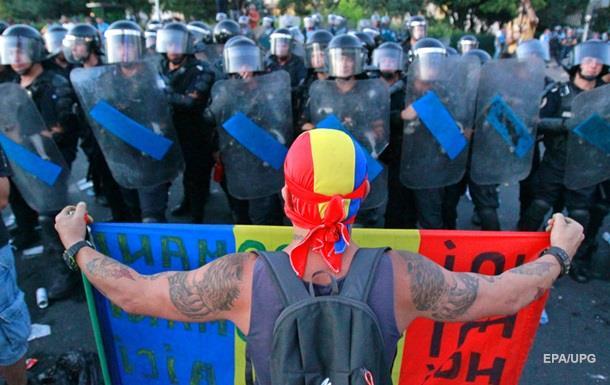 Число постраждалих у ході протестів в Румунії перевищило 440