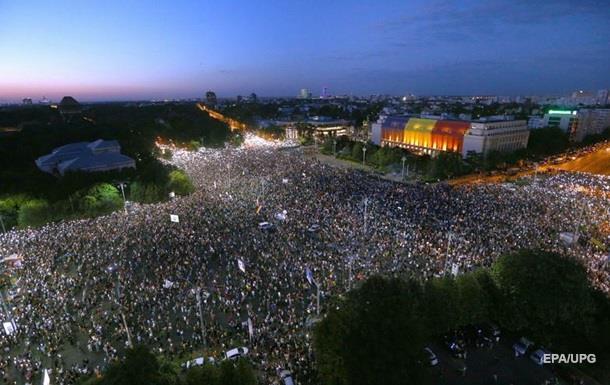 Президент Румунії засудив силовий розгін протестувальників