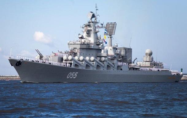 Російський крейсер зайшов у Середземне море