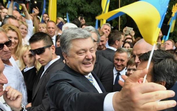 Порошенко розповів про прапор України над Ялтою