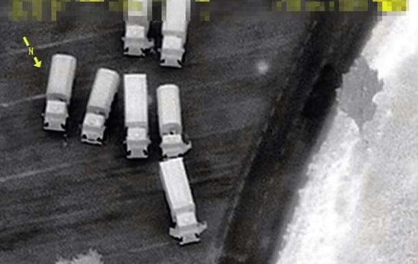 ОБСЄ показала колони вантажівок із РФ на Донбас