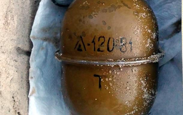 Біля будинку в Харківській області знайшли гранату