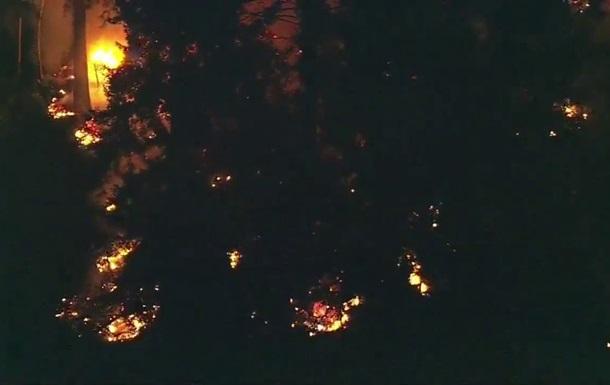 З явилося відео з місця катастрофи літака в Сіетлі