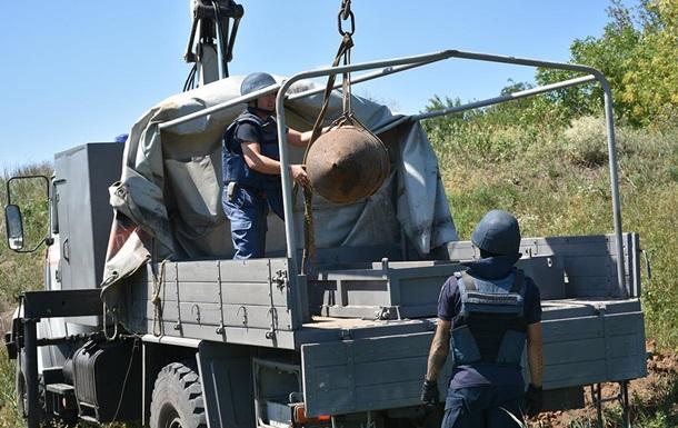 На Дніпропетровщині знайшли 500-кілограмову бомбу