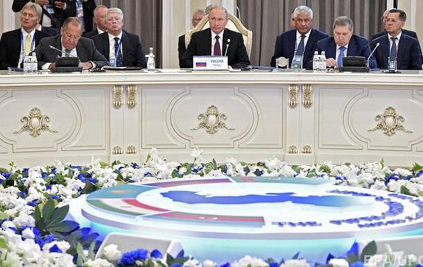 П ять держав закріпили розподіл Каспійського моря