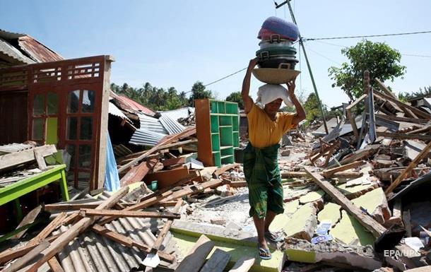 Кількість жертв землетрусу в Індонезії перевищила 430 осіб