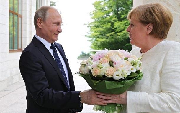Путін їде до Меркель говорити про Україну