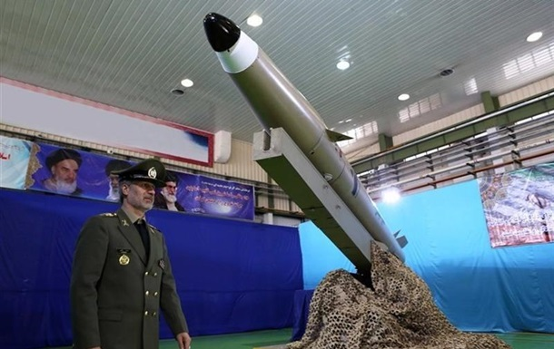 Іран представив балістичну ракету нового покоління