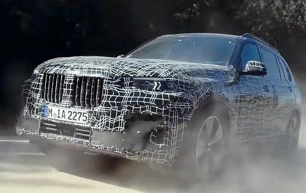 BMW показала новий кросовер X7 на відео