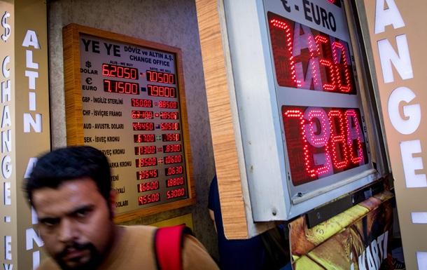 Из-за санкций США. Рекордное падение турецкой лиры