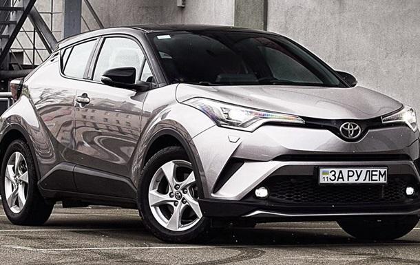 Тест-драйв Toyota C-HR: Найкращий драйверський кросовер марки