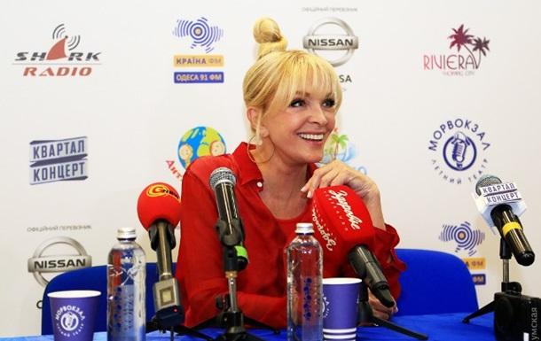 Лайма Вайкуле прокомментировала слова о невозможности выступлений в Крыму