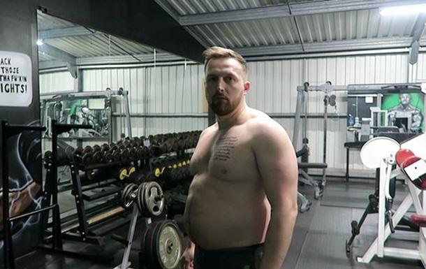 Отец сбросил 25 кг, чтобы не быть  толстым батей