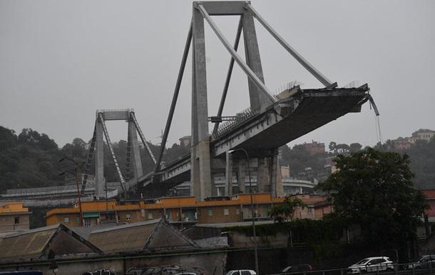 Під завалами моста в Італії знайшли 22 загиблих