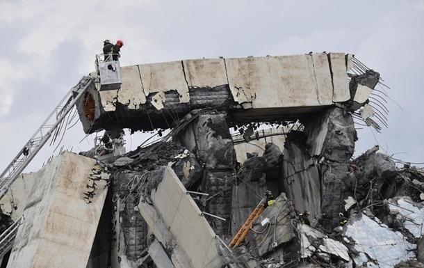 У МВС Італії заявили про 31 жертву НП в Генуї