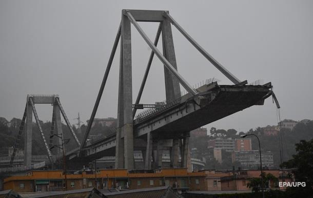 Обвалення моста в Генуї: кількість жертв продовжує зростати