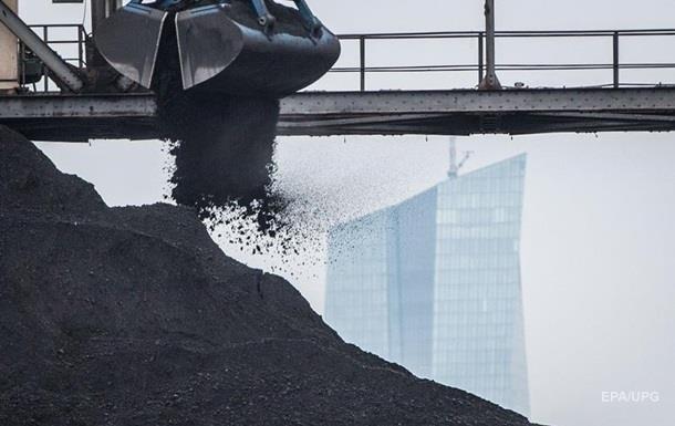 Запаси вугілля в Україні нижчі за торішні на 20%
