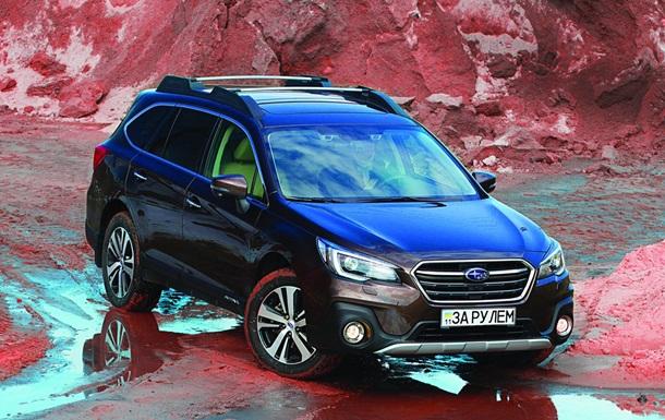Тест-драйв обновленного универсала Subaru Outback