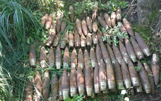 В Черкасской области нашли 75 боеприпасов времен Второй мировой