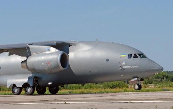 На параде в Киеве покажут новый самолет Ан-178