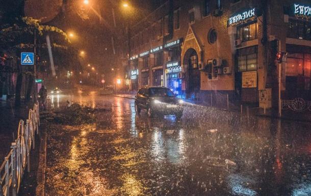 Ливень в Киеве