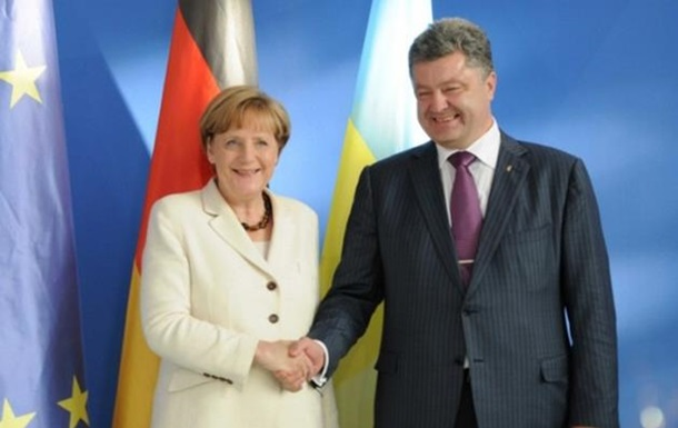Порошенко поговорив з Меркель по телефону