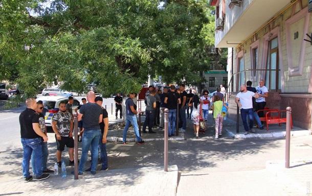 В Одесі стався силовий конфлікт за медцентр
