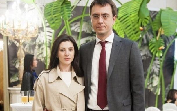 Дружина міністра Омеляна продає свою продукцію в РФ - журналіст