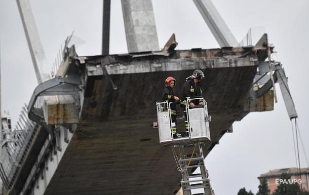 В Італії розпочато розслідування щодо фірми, яка обслуговувала міст в Генуї