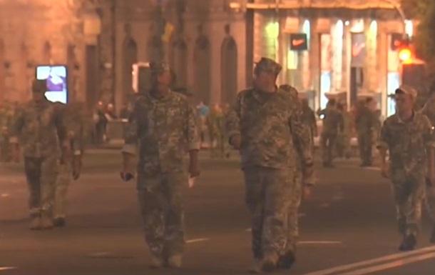 У Києві відбулася репетиція параду до Дня Незалежності