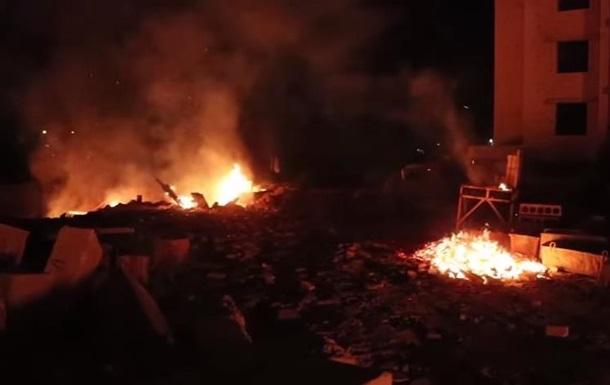 Под Киевом разгромили стройплощадку