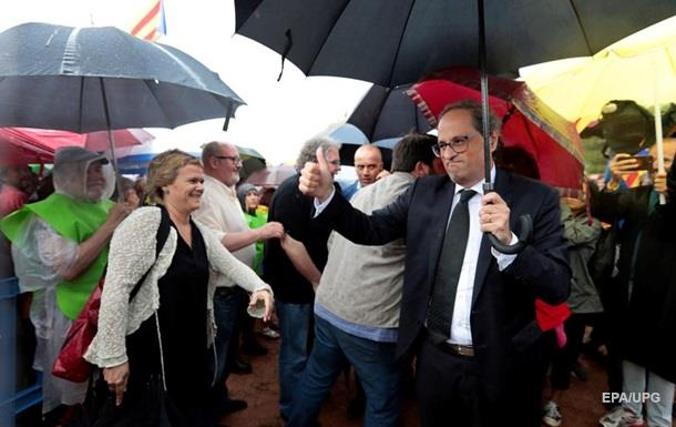 Глава Каталонии пообещал сделать все для создания республики