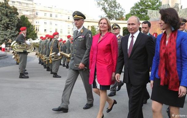 Путін привезе на весілля глави МЗС Австрії козачий хор