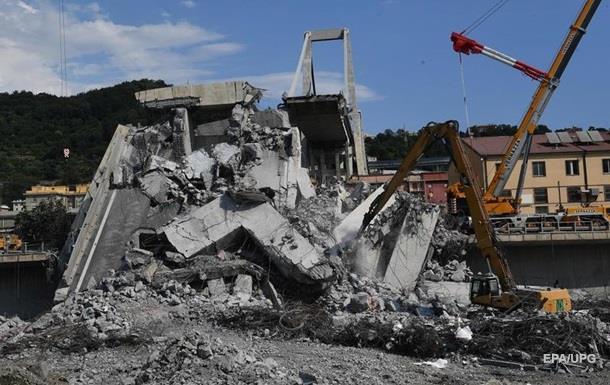 Італійська компанія обіцяє відбудувати зруйнований міст у Генуї