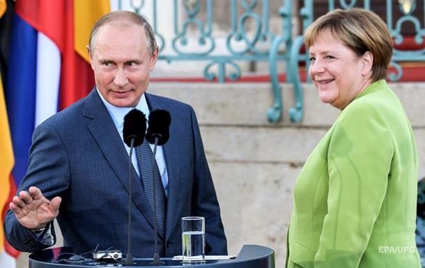 Зустріч Меркель і Путіна: в Кремлі назвали причину