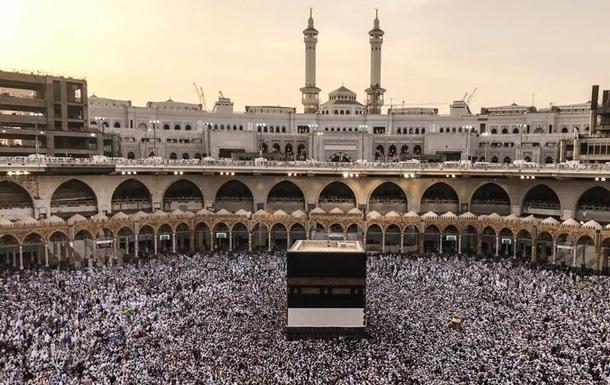 У Саудівській Аравії близько двох мільйонів мусульман розпочали хадж