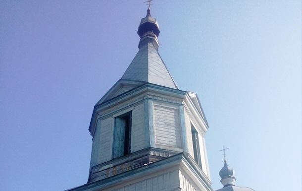 В Черкасской области горела древняя церковь