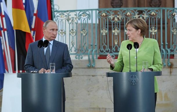У Меркель назвали одну домовленість з Путіним