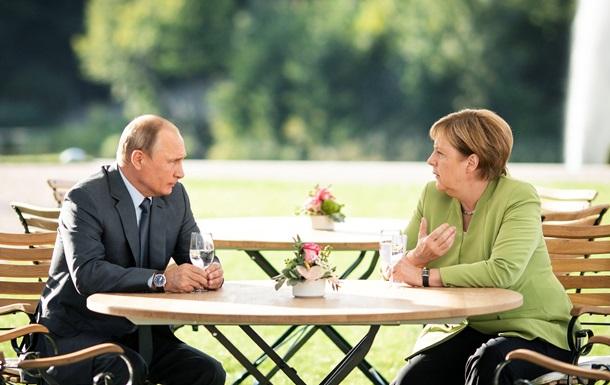 Украина, СП-2 и Сирия. Встреча Меркель с Путиным