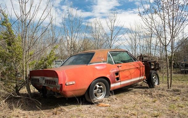 Найден уникальный Mustang, пропавший в 1968 году