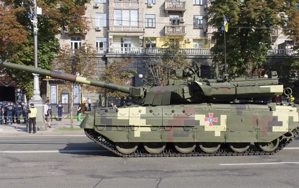 На параді в Києві покажуть танк, адаптований під стандарти НАТО