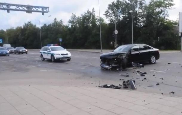 В Вильнюсе произошло ДТП с участием военных НАТО