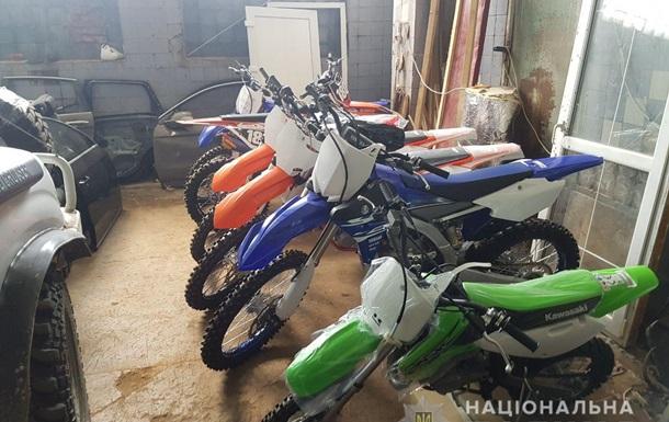 В Україні знайшли три десятки викрадених в Італії мотоциклів