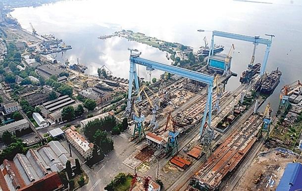 Николаевский судостроительный завод выставили на продажу
