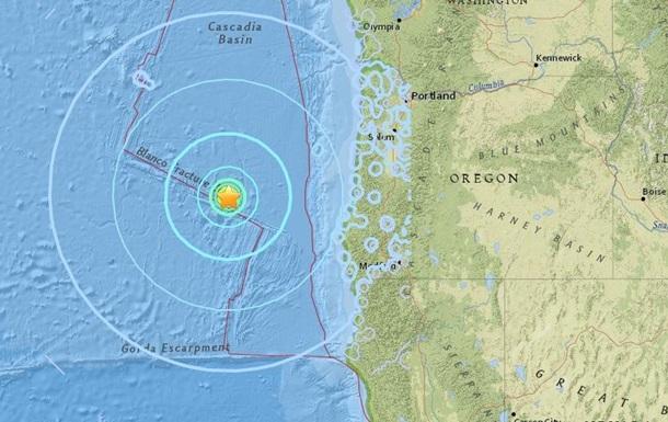 У побережья США произошло четыре землетрясения