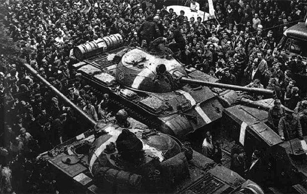 У Чехії назвали вторгненням введення військ у 1968