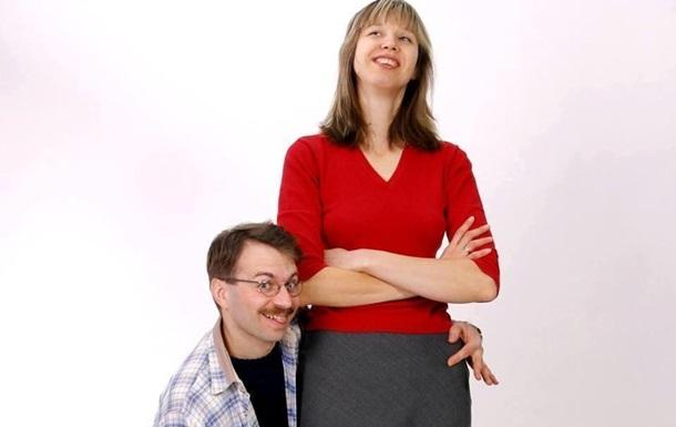 В Україні зареєстрували пару з рекордною різницею в зрості