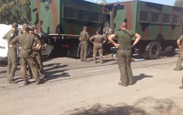 У Київській області нацгвардійці потрапили в ДТП