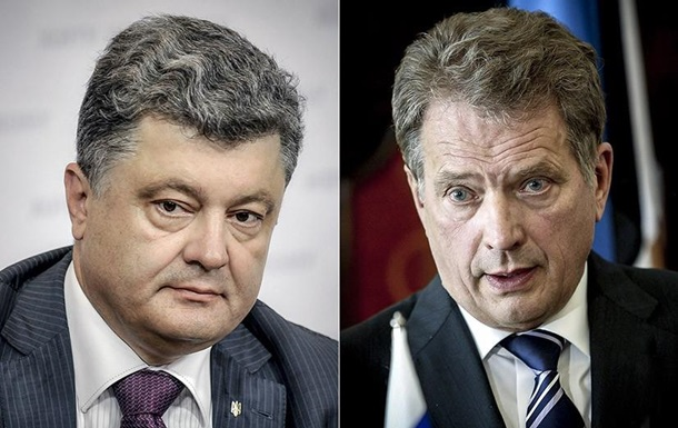 Порошенко провів бесіду з президентом Фінляндії