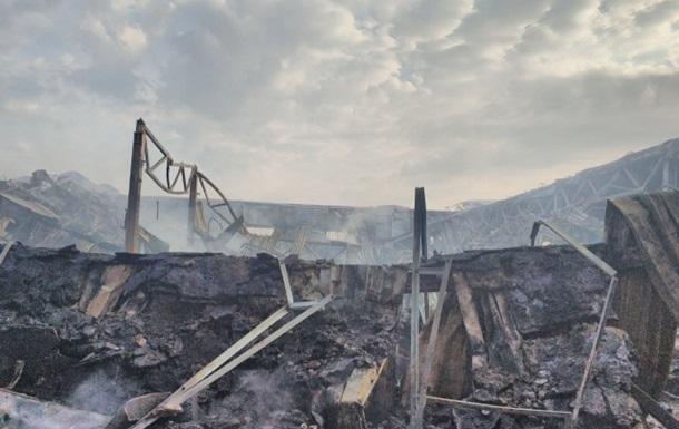 Отделение Новой почты в Мукачево сгорело полностью